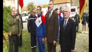 Le transfert de la Flamme Paris Verdun 2011 - France 2