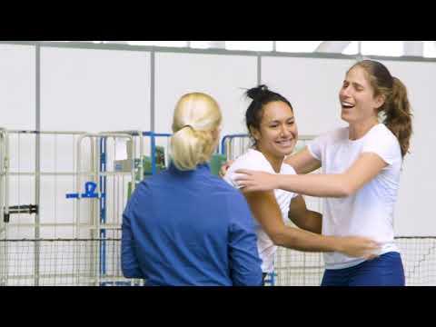 GB Fed Cup Team training in Japan