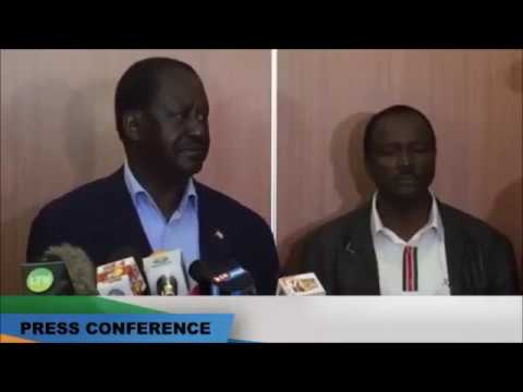 NASA Press Conference Releasing Dossier on Jubilee/KDF Plot To Rig Elections Full Unedited Version