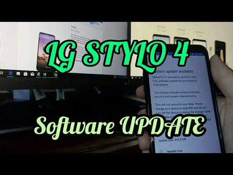 LG STYLO 4 SOFTWARE UPDATE