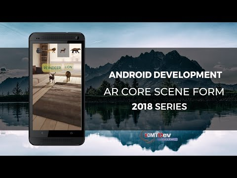 Android Studio Tutorial - Google AR Core Sceneform