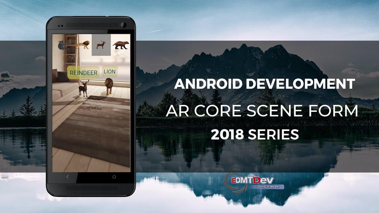 Android Studio Tutorial - Google AR Core Sceneform