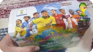 Panini Adrenalyn XL Fifa World Cup Brasil 2014 WM DISPLAY Unboxing [HD+] ★ 10 Päckchen
