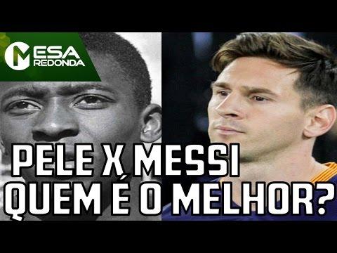 Mesa Redonda - Pelé ou Messi, quem é o maior jogador da história (10/04/16) thumbnail