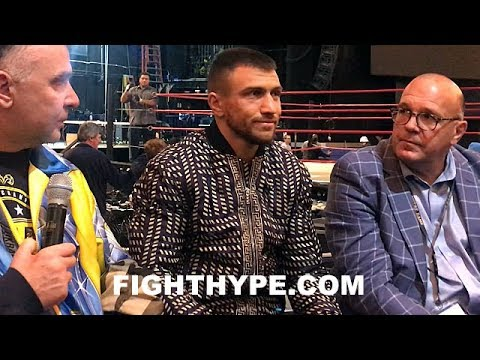 LOMACHENKO ROLLS EYES AT RIGONDEAUX INJURY CLAIM; FIRES SHOT ABOUT PRE-FIGHT TRASH TALK