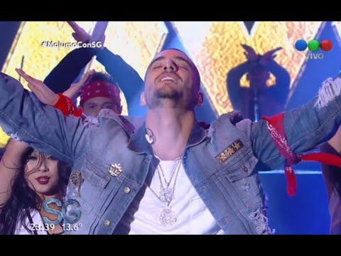 "Maluma canta ""Borro Cassette"" y ""Perdedor"" en vivo - Susana Gimenez"