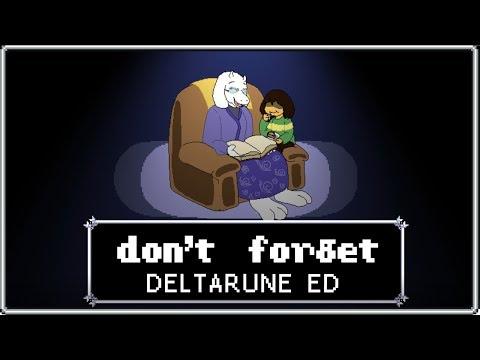 Don't Forget (DELTARUNE