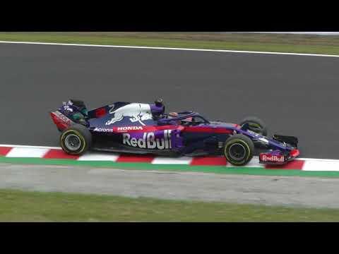 2018F1日本GPヘアピンエンジン音