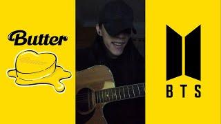 Butter - BTS 방탄소년단 (Acoustic Cover) #Shorts