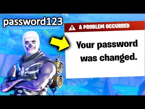 I Put My PASSWORD In My Fortnite Name