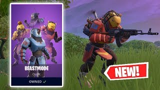 NOUVEAU GAMEPLAY BEASTMODE SKIN À FORTNITE!