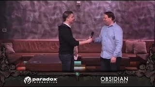 Paradox and Obsidian Are Teaming Up on Pillars of Eternity! GDC 2014 Press Conference