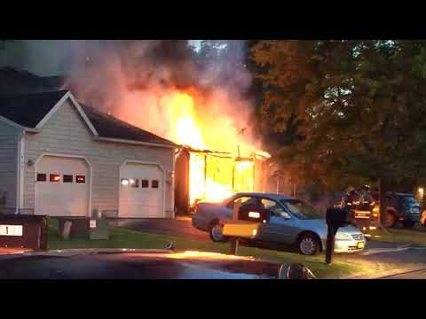 Clay townhouse fire