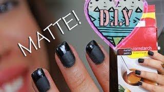 D.I.Y homemade MATTE NAIL Polish!!! | AndreasChoice