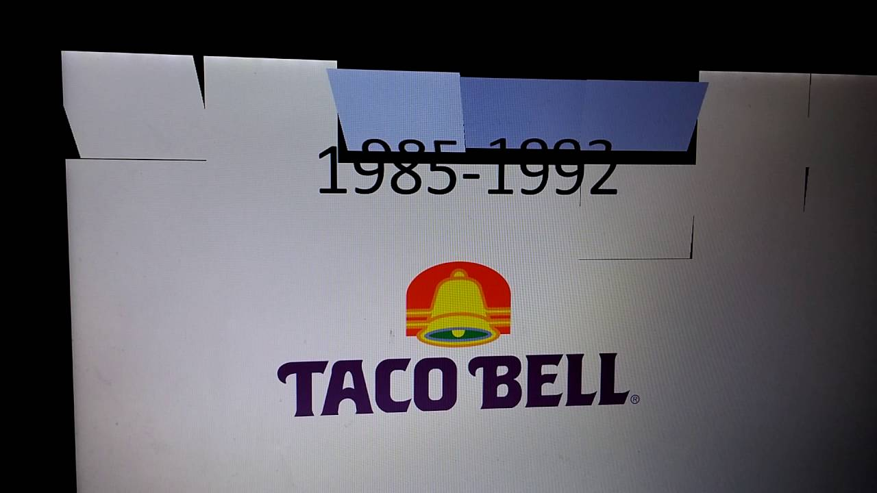 history of the taco bell logo 19622016 youtube