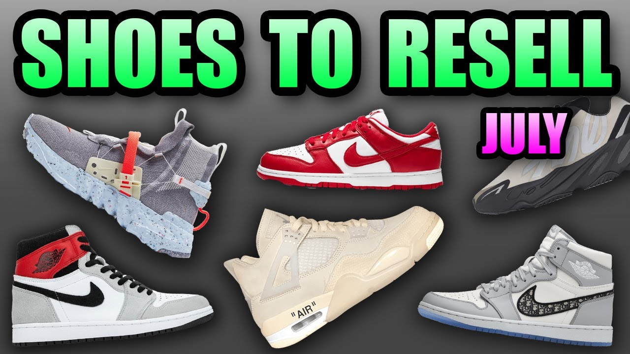 Most HYPED Sneaker Releases JULY 2020