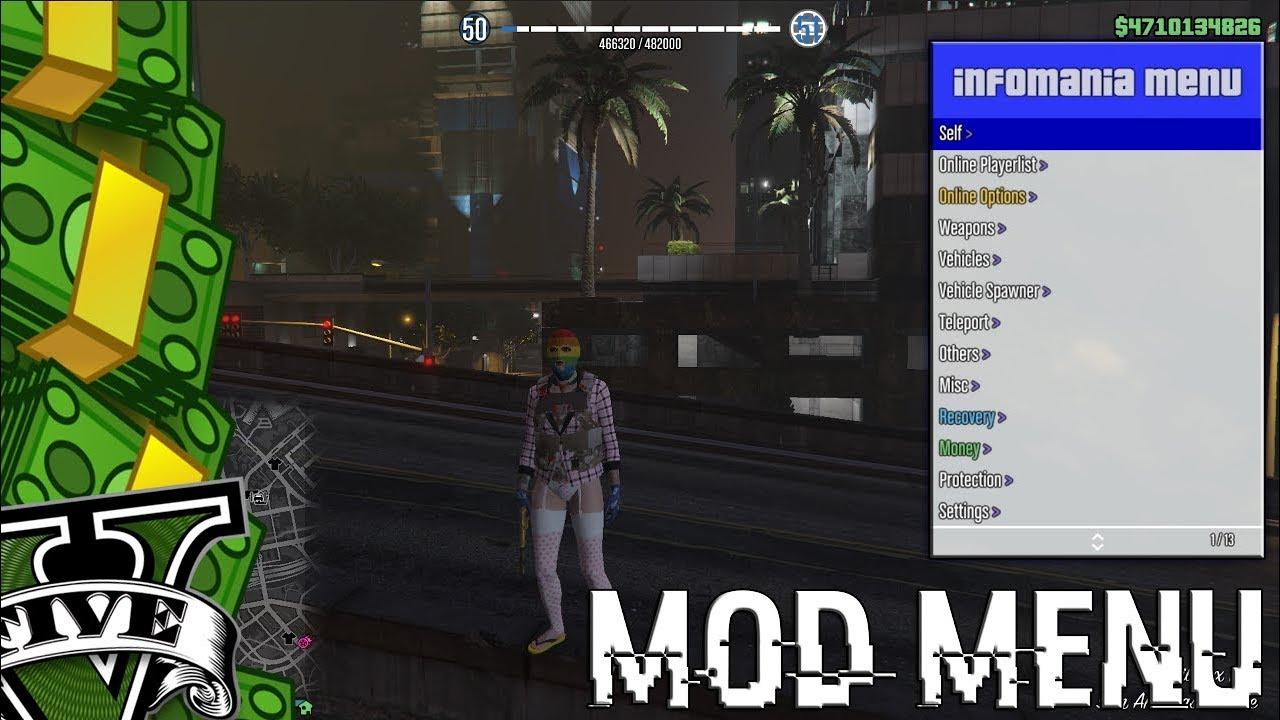 Paid gta 5 mod menu pc