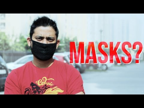 Best Pollution Masks that WORKS for Delhi-NCR (India)