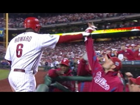 2008 WS Gm4: Howard hits 2 homers and drives in 5