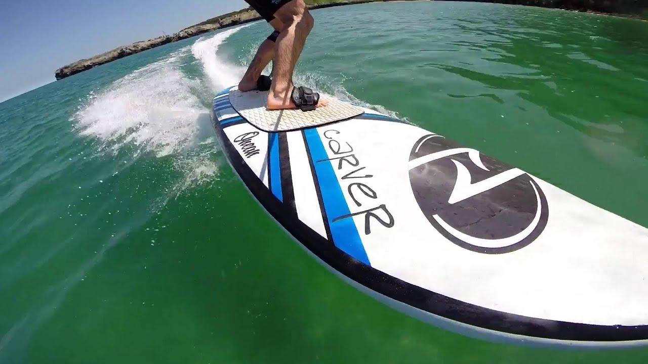 electric jet surf carver preview youtube. Black Bedroom Furniture Sets. Home Design Ideas