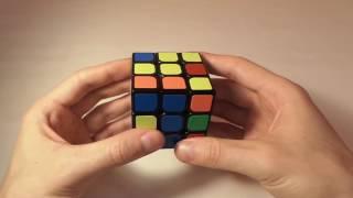 Простой способ собрать кубик Рубика. Видеоурок. Шаг 2 из 6.