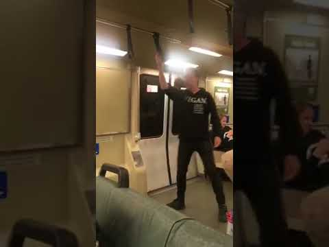 Vegan Dancing on the Train