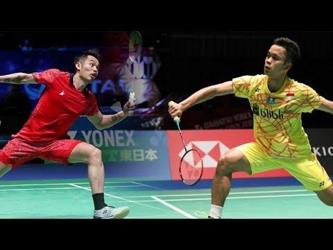Jadwal Pertandingan China Open 2018, Anthony Ginting Vs Lin Dan