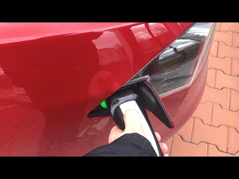 #52 Tesla S75D Trip na Moravu a zpět (100% SC) | Teslacek