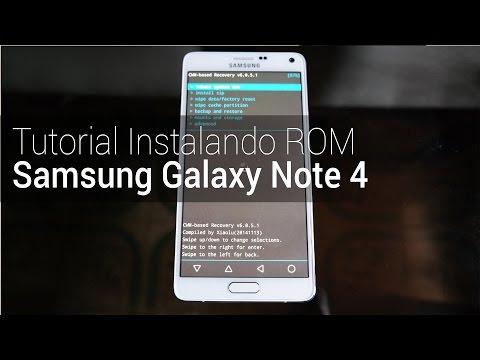 Instalando ROM: Samsung Galaxy Note 4 | TudoCelular.com