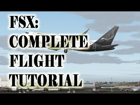 Fsx Complete Flight Tutorial With Boeing 737 Flight From Mosnov To Ruzyne Youtube