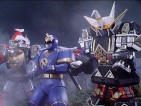 ninja et shogun Power rangers megazord parts-mighty morphing saison 3