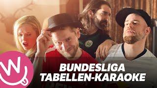Das Bundesliga Tabellen Karaoke