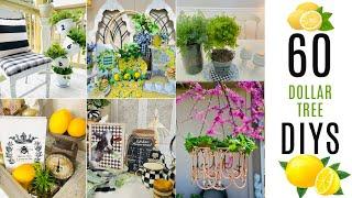 🍋60 DIY DOLLAR TREE ((MUST SEE!!)) DECOR CRAFTS🍋Olivia's Romantic Home DIY