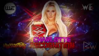 WWE | Charlotte | Recognition | Theme Song | AE+Arena Effects 2017 | V2