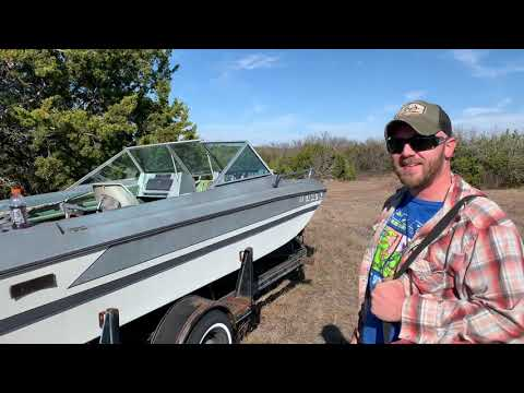 Ski Boat Converted To Bass Boat Part 1