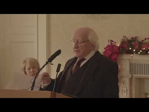 Address by President Higgins at the unveiling of 'Dearcán na nDaoine – The People's Acorn'