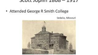 Scott Joplin History