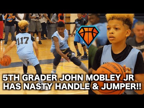 John Mobley Jr is the NASTIEST 5th Grader You've EVER Seen!! | NEO YouthElite Highlights