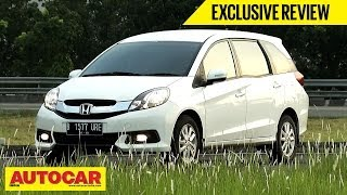 honda mobilio   exclusive first drive video review   autocar india