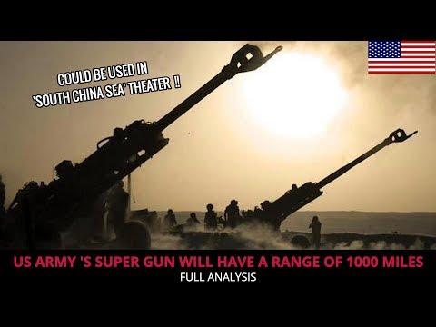 U.S ARMY DEVELOPING 'SUPER GUN' !!