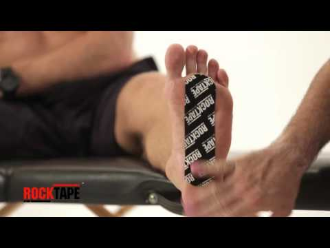 Rocktape - Kinesiology Tape Instructions For Metatarsalgia