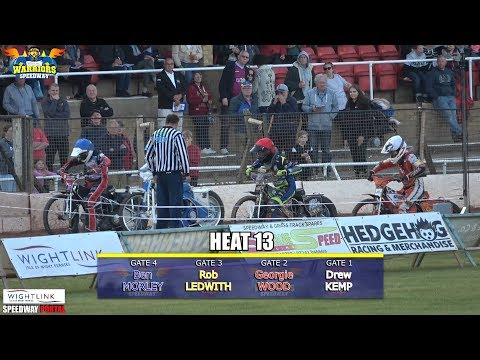 Hottest Heat 13 : Isle of Wight 'Wightlink' Warriors vs Kent 'Kings' : National Trophy : 30/05/2019
