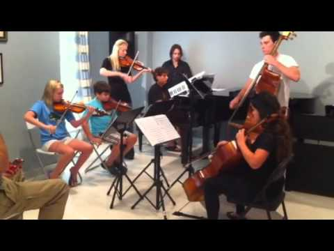 Coast Music Conservatory's Chamber Music Camp Plays