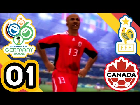 2006 FIFA World Cup Germany - vs France (A) [Canada] - Part 01