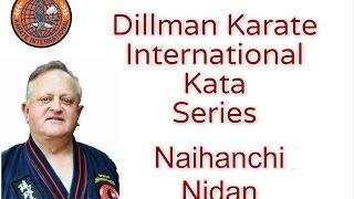 George Dillman/ Dillman Karate International/Naihanchi Nidan