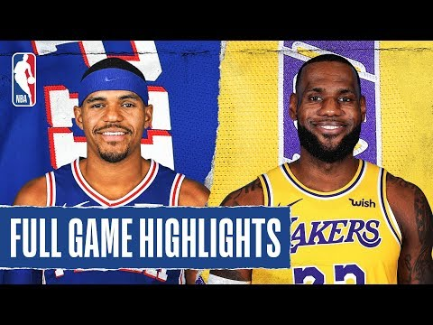 76ERS at LAKERS | FULL GAME HIGHLIGHTS | March 3, 2020