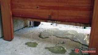 Cedar Planter Box update - does it drain properly?