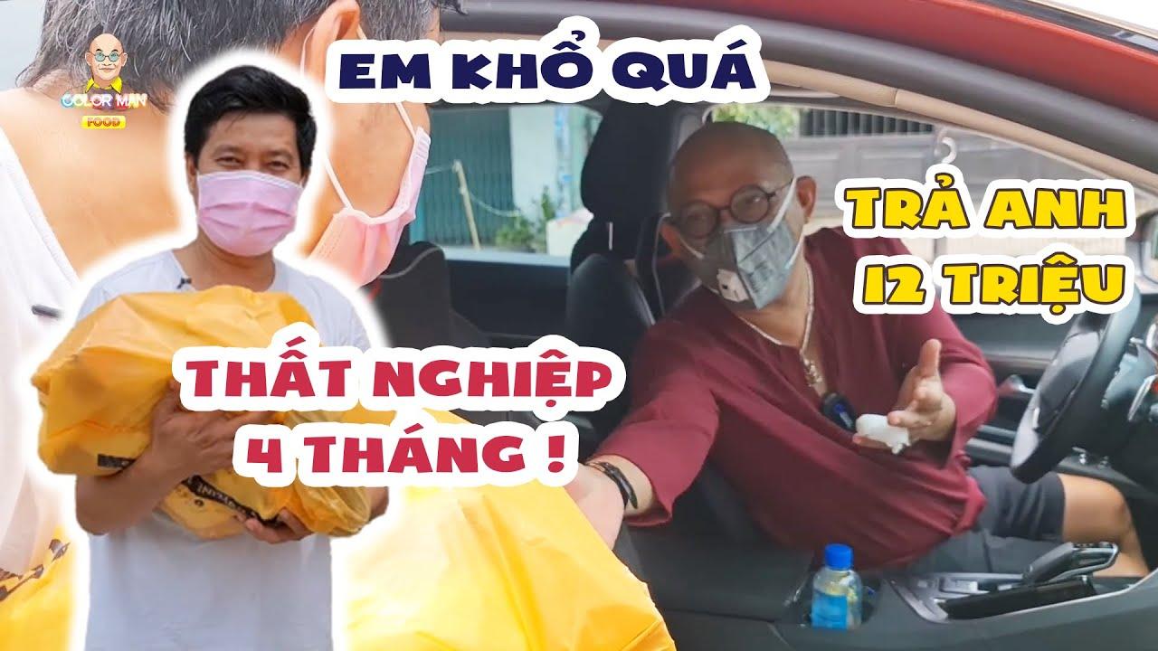 """Khương Dừa than khổ, Color Man tiếp tế GÓI QUÀ công ty sẵn hỏi món """"nợ"""" khó đòi ?!?   Color Man Food"""