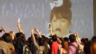 AKB48 台灣日本觀光文化展 interview.