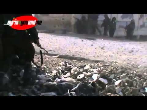Dangerous syrian assad army kills syrian rebels